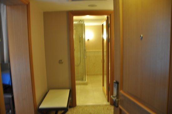 Swissotel Ankara : part of bathroom