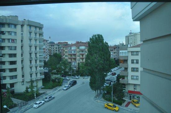 Swissotel Ankara : view from room
