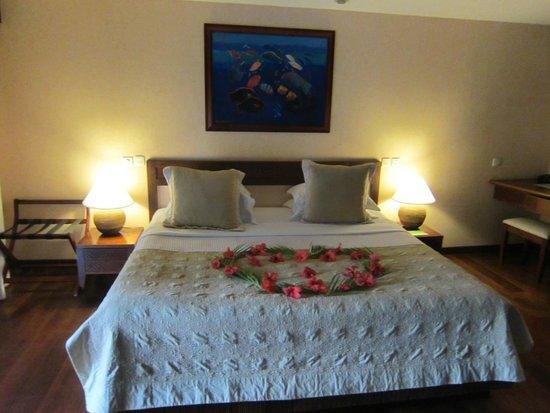 Manava Beach Resort & Spa - Moorea : Chambre