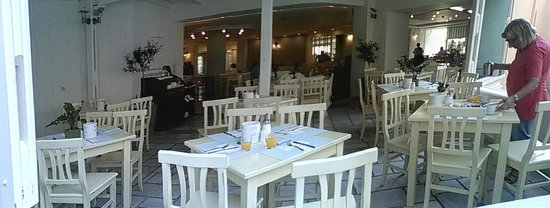 Nefeli Hotel : La Salle à manger