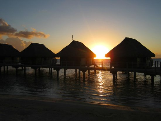 Manava Beach Resort & Spa - Moorea: Sunset