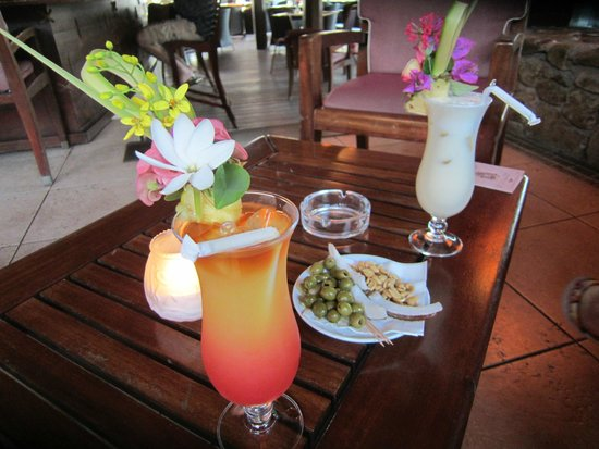 Manava Beach Resort & Spa - Moorea : Cocktails