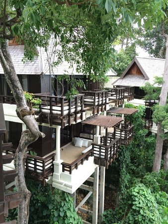Gaya Island Resort: The chalets all have large balconies