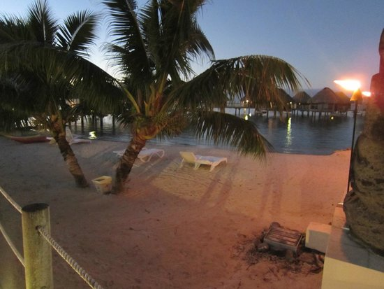 Manava Beach Resort & Spa - Moorea : Plage