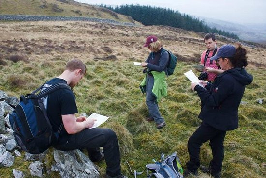 Graham Uney Mountaineering - Day Courses: On a Wild Walks Wales navigation course