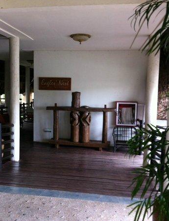 Eagle's Nest Restaurant: entrance  to the restaurant