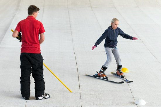 Calshot Activity Centre: The ski slope is perfect for beginner and intermediate shiers to perfect their skills. We also h