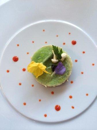 Logis de la Cadene : Tartare d'Araignée au quinoa