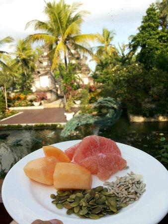 Padma Resort Legian: view sarapan pagi