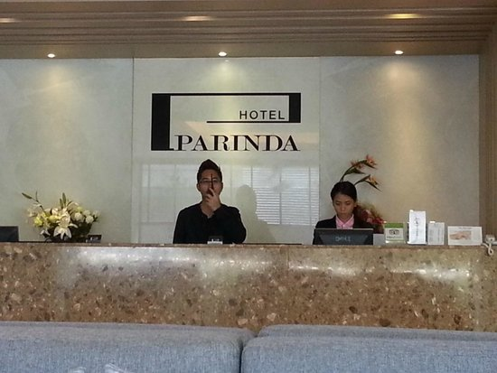 Parinda Hotel: Reception / Lobby