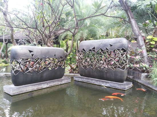 Padma Resort Legian: taman di padma resort