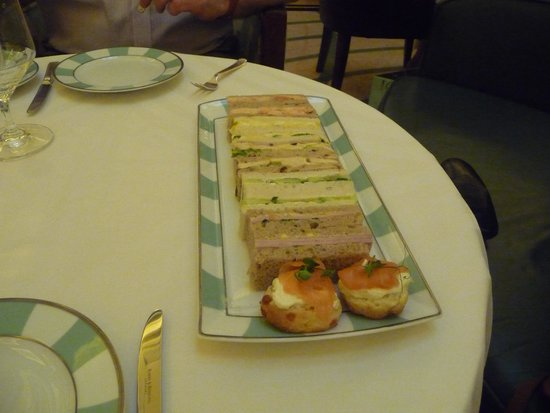 The Foyer At Claridge's: Sandwiches