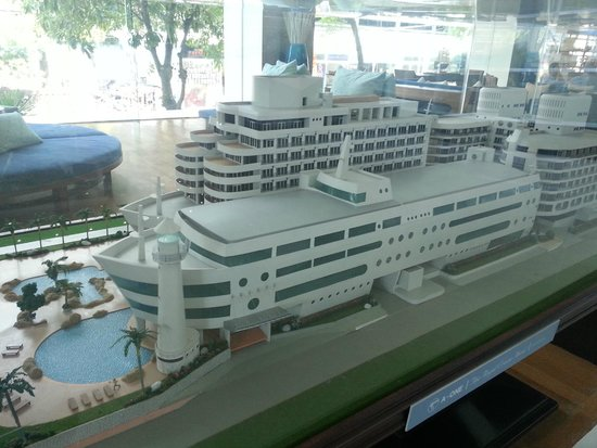 A-One The Royal Cruise Hotel: Hotel Model / Layout