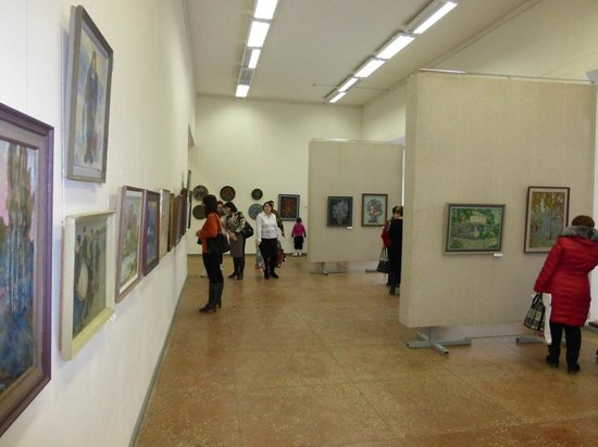 Exhibition Hall of the Tula Fine Arts Museum