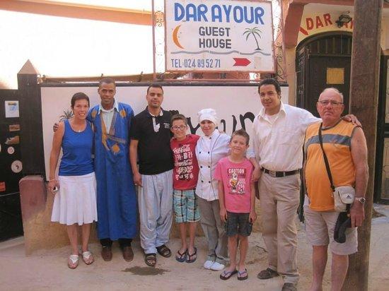 Dar Ayour : Un belle brochette !!