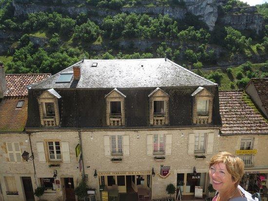 Le Terminus des Pelerins : front of hotel