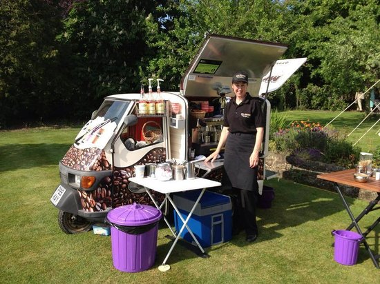Mr Bean Coffee Van: Private Function