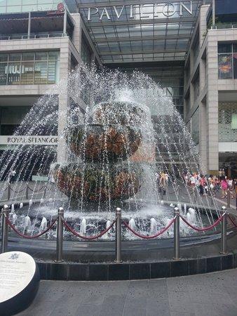 ANSA Kuala Lumpur : Pavilion Mall near by