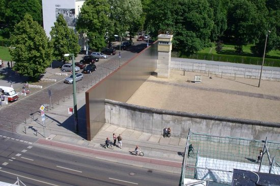 Memorial of the Berlin Wall: wall frame