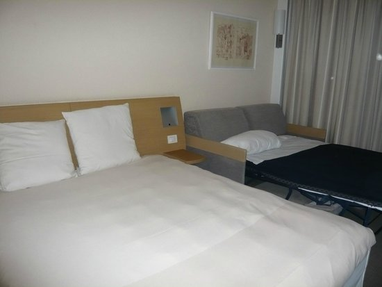Novotel Venezia Mestre: Pull out bed