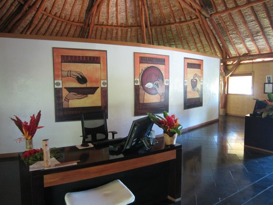Maitai Lapita Village Huahine: Réception