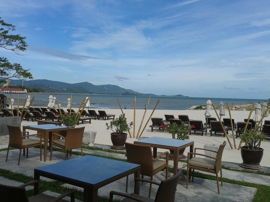 Deva Samui Resort & Spa : Beachfront