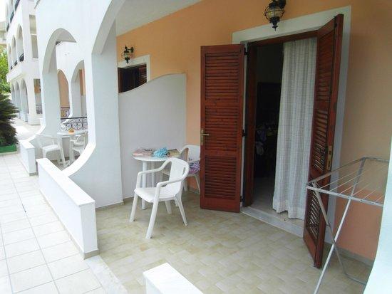 Margarita Apartments: our patio