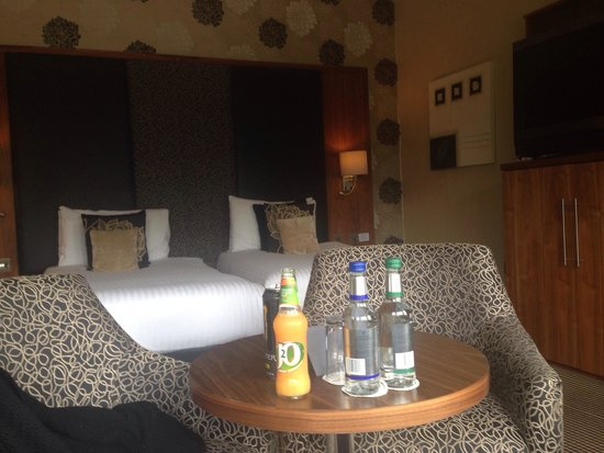 The Dunstane Hotel : Twin room 202