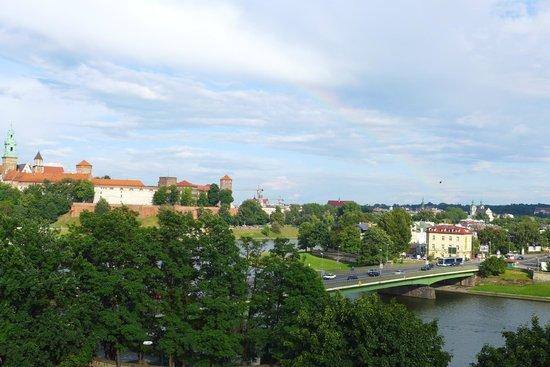 Novotel Krakow Centrum : Nice view executive room.