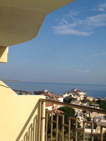 Palmin Hotel : View of the sea