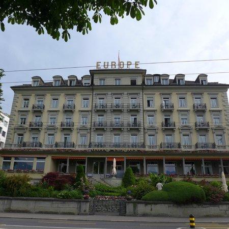 Grand Hotel Europe: Hotel facade