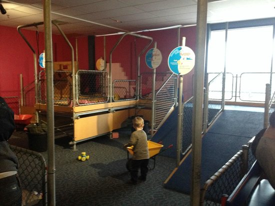 Scitech : work site for 3-7 yr olds