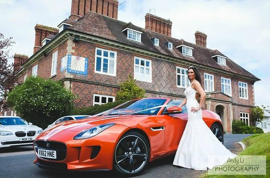 Sportscarhire: Perfect Wedding Day Hire   Jaguar F Type Roadster
