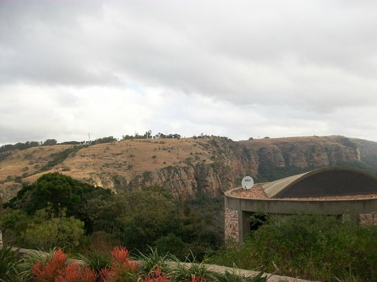 The Gorge Private Game Lodge & Spa: View from restaurant