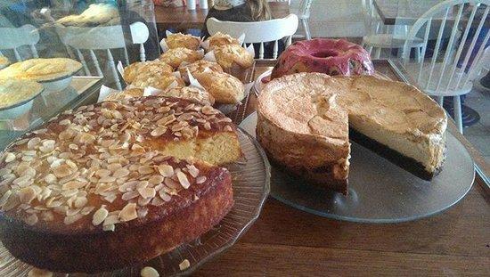 cakes at coffee chakra