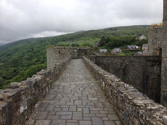Harlech Castle: Views from the Castle