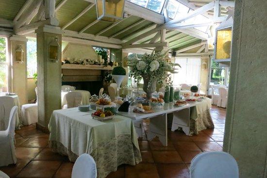La Locanda dei Ciocca: Breakfast Area