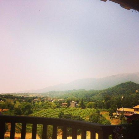 Monfumo, Italia: Splendida vista!