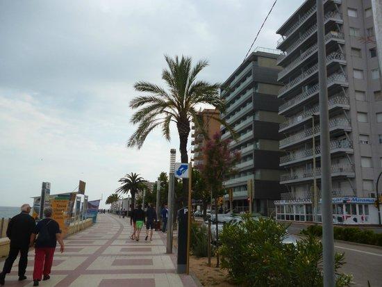 Hotel & Spa Pimar: Выйдя из отеля