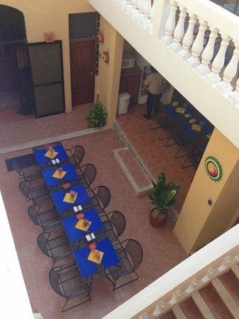 Hotel del Peregrino : Breakfast area