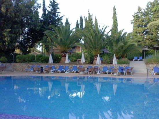 HSM S'Olivera: S'Olivera pool area