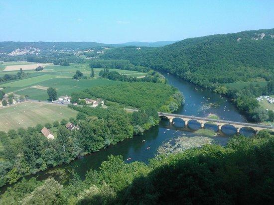 Château Castelnaud : Prachtig uitzicht over de Dordogne