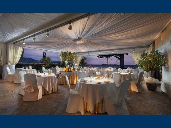 Grand Hotel Gardone : Restaurant à la carte