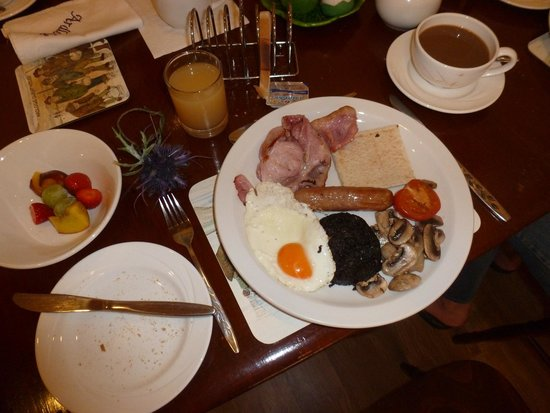 Ardlogie Guest House: Full Scottish Breakfast - Yummie!