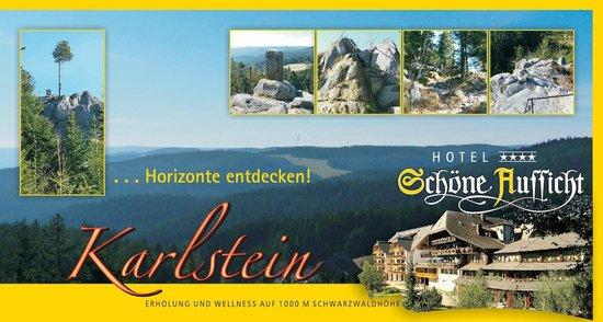 Karlstein Bild Von Hotel Schone Aussicht Hornberg Tripadvisor