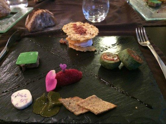 Restaurant Art et Galets: Assiette de charcuterie (si si c'est génial)