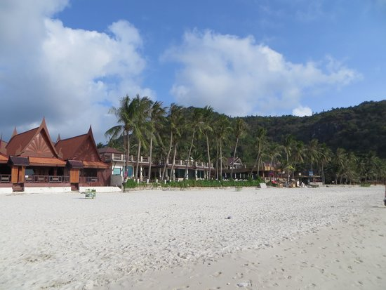 Sunrise Resort: Haad Rin Nok beach & view of their beach villas