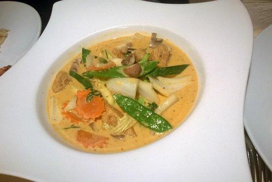 Bangkok: curry rosso di verdure