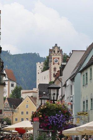 Castillo de Neuschwanstein: Fussen Town