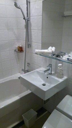 Solaria nishitetsu hotel Ginza : ダブルルールのバスルーム